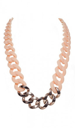 HANSE-KLUNKER Damen Kette 107104 Edelstahl rosenude rosegold