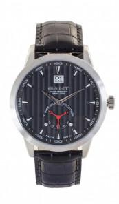 Gant Herrenuhr Cortland W10821 Leder schwarz