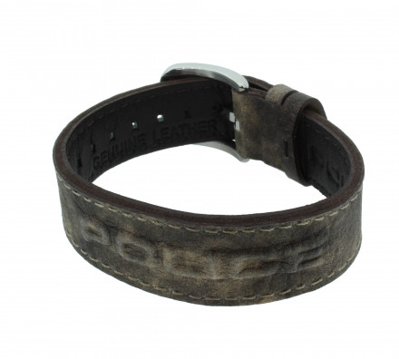 POLICE Herren Armband PJ24292BLC-02 Leder braun