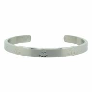 HAFEN-KLUNKER Glamour Collection Armreif Anker breit 108160 Edelstahl Silber