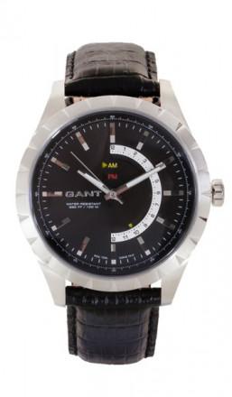 Gant Herrenuhr Boxford W10771 Leder schwarz