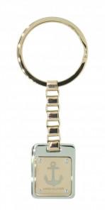 HAFEN-KLUNKER Schlüsselanhänger limited Edition Anker 108123 Edelstahl rosegold silber
