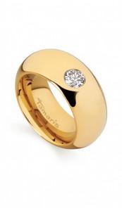 Tamaris Ring Kate 100403 Edelstahl Zirkonia gold