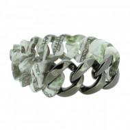HANSE-KLUNKER ORIGINAL Damen Armband 107402 Edelstahl dollar gun metal