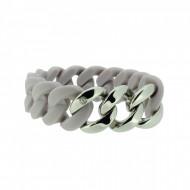 HANSE-KLUNKER ORIGINAL Damen Armband 107771 Edelstahl pastellviolett silber