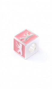 Berlin Schmuck Charms TPCH003BER Silber rosa