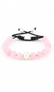 MARC SWAN Armband Shamballa Style 106476 rosa silber