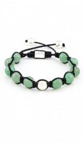 MARC SWAN Armband Shamballa Style 106441 grün