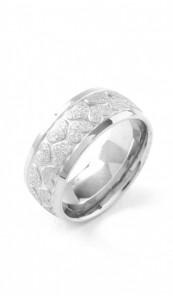 Grey Ring 100574 Herz Edelstahl silber