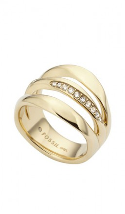 FOSSIL Ring JF01615710 gold