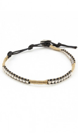 MARC SWAN Armband 100146 Leder braun schwarz