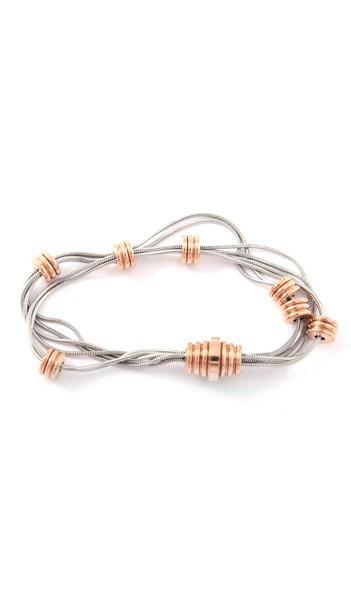 Grey Armband 100034 Edelstahl rosegold silber
