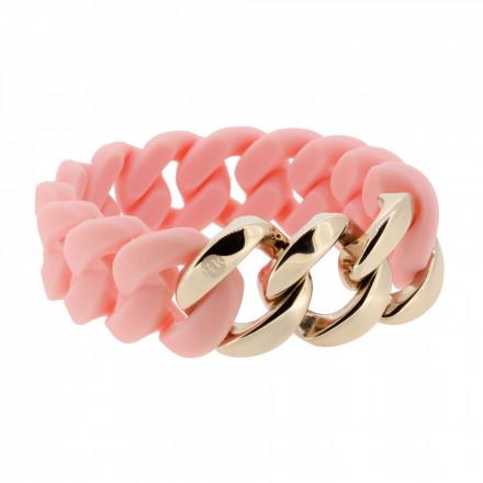 HANSE-KLUNKER ORIGINAL Damen Armband 107028 Edelstahl lachs rosegold