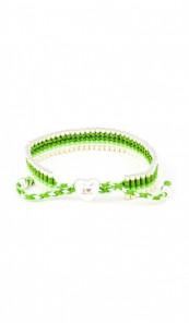 I Love Berlin Armband 106424 Herz grün weiss