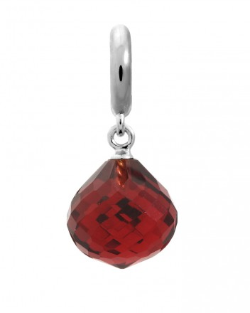 Endless JLo Charm Love Drop Ruby Crystal 1351-3 rot