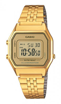 CASIO Retro Digitaluhr LA680WEGA-9ER gold