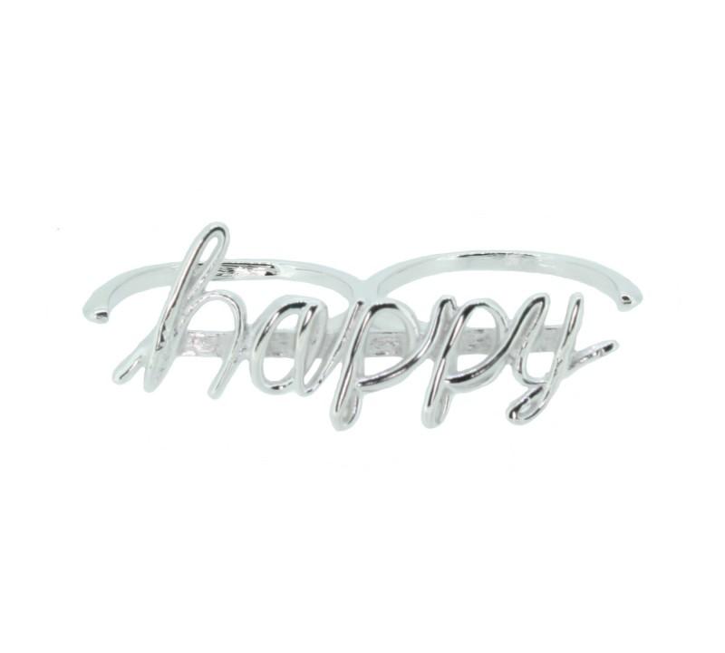 SilverArt Collection Ring Happy SR003-SR Silber rhodiniert silber
