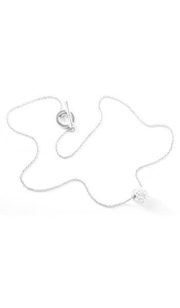 Grey Kette Crystal 100073 Edelstahl Zirkonia silber