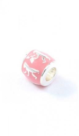 Berlin Schmuck Charms TPCH002BER Silber rosa