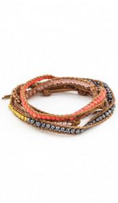MARC SWAN Wickelarmband 106493 Leder mehrfarbig