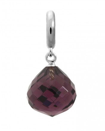 Endless JLo Charm Love Drop Amethyst Crystal 1351-1 lila