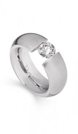 Tamaris Ring Scarlet 100396 Edelstahl Zirkonia silber