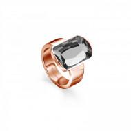 Tamaris Ring Becky 106846 Edelstahl rosegold grau