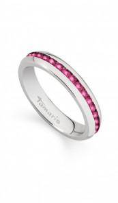 Tamaris Ring Daisy 100538 Edelstahl Zirkonia silber pink