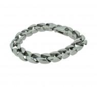 Grey Armband GAB006 Edelstahl silber