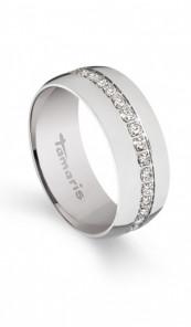 Tamaris Ring Denise 100351 Edelstahl Zirkonia silber