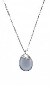 SKAGEN Kette SEA GLASS SKJ0176040 silber grau