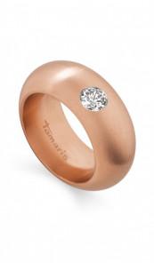 Tamaris Ring Kate 100406 Edelstahl Zirkonia rosegold matt