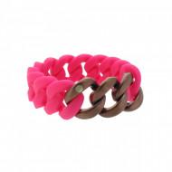HANSE-KLUNKER ORIGINAL Damen Armband 107942 Edelstahl pink bronze matt