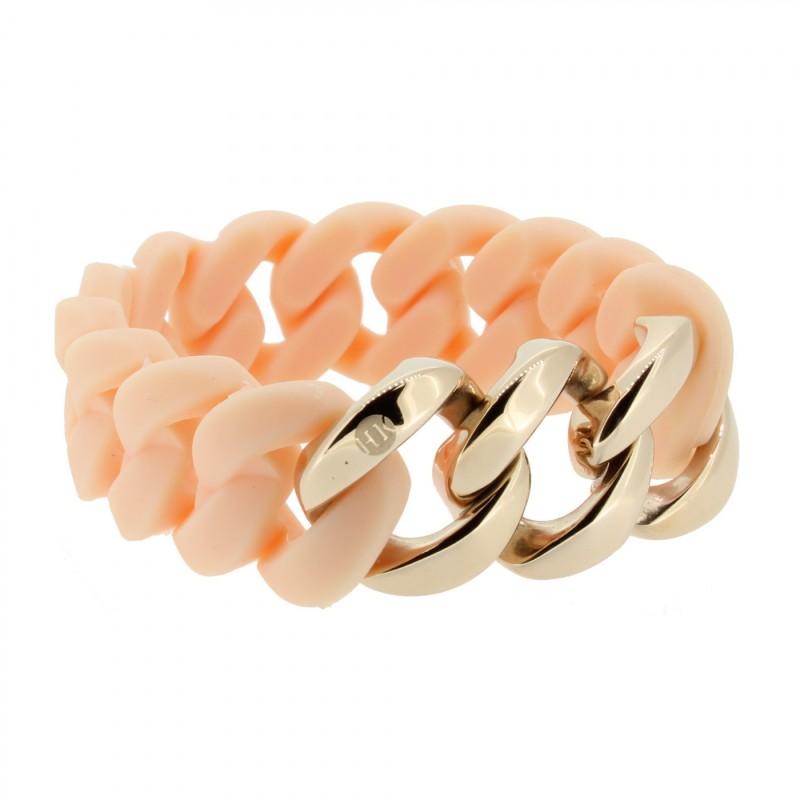 HANSE-KLUNKER ORIGINAL Damen Armband 107034 Edelstahl rosenude rosegold
