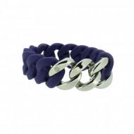 HANSE-KLUNKER ORIGINAL Damen Armband 107767 Edelstahl nachtblau silber