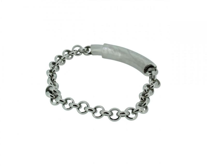 POLICE Herren Armband PJ23022BSS-02-21 Edelstahl silber