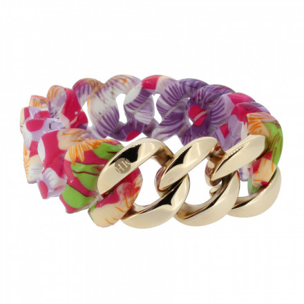HANSE-KLUNKER ORIGINAL Damen Armband 107407 Edelstahl hawaii rosegold