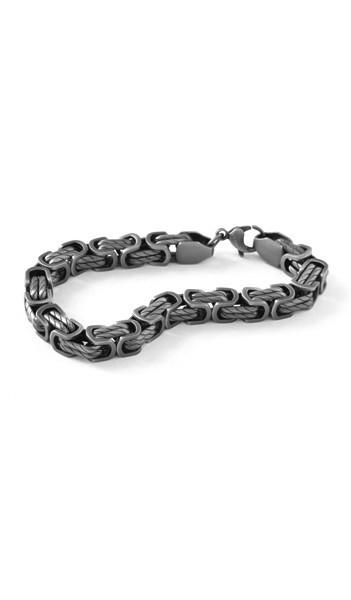 Grey Armband 100540 Edelstahl grau