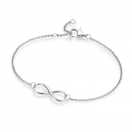 SilverArt Collection Armband Infinity 92003693190 Sterlingsilber silber