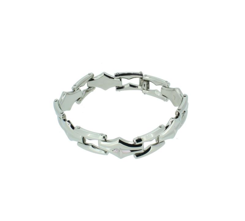 POLICE Herren Armband PJ23833BSS-01-L Edelstahl silber
