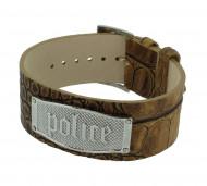 POLICE Herren Armband PJ21321BLC/05 Leder braun
