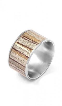 Grey Ring 100572 Edelstahl braun