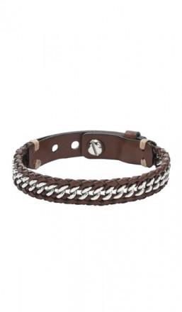 FOSSIL Armband JF01633040 Leder braun