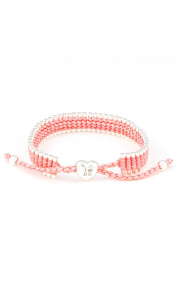 I Love Hamburg Armband 106411 Herz rosa