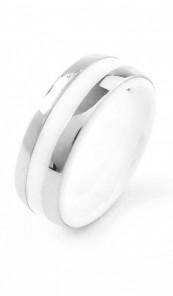 Grey Ring 100552 Edelstahl silber