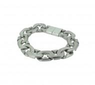 POLICE Herren Armband PJ23883BSS-01-S Edelstahl silber