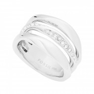 FOSSIL Ring CLASSICS JF01147040-8 Edelstahl silber