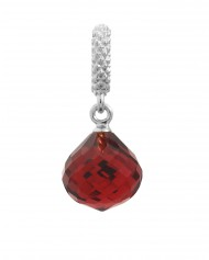 Endless JLo Charm Mysterious Drop Ruby Crystal 1301-3 rot