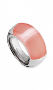Tamaris Ring Candy 100188 Edelstahl silber apricot