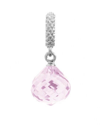 Endless JLo Charm Mysterious Drop Rose Crystal 1301-4 rosa